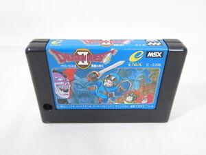 MSX-DRAGON-QUEST-II-2-Cartridge-Import-Japan-Video-Game-msx-cart