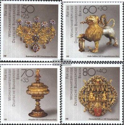 west 818-821 kompl.ausgabe Postfrisch 1988 Wohlfahrt Berlin