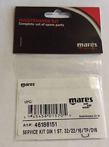 Mares 1 Stufe Service Kit Travel Kit für Atemregler NEU !!!