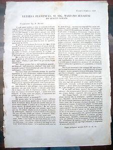 1848-ECCEZIONALE-MANIFESTO-RISORGIMENTO-APPELLO-ISOLANI-DELLE-ISOLE-TREMITI