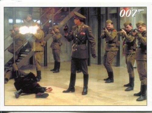 James Bond Archives 2015 Goldeneye Chase Card #9