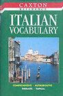 Italian Vocabulary by Pesavento P (Hardback, 2000)