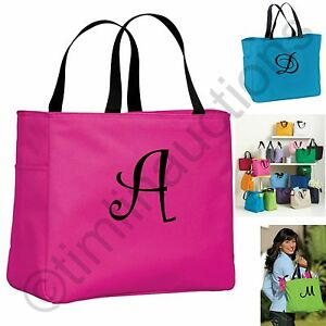 Image Is Loading Personalized Tote Bags Monogram Gift Ideas For Teachers