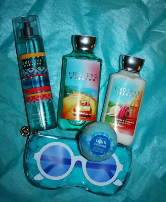 ENDLESS WEEKEND Lotion Mist Fizz  Lot of 5 SAVE up to 40%