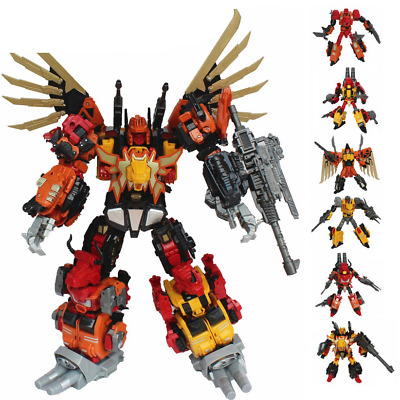 Transformer Predaking Oversized Set Of 6 Toys Jinbao Version MMC Feral Rex LOOSE