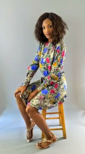 Vintage  Albert Nipon silk dress - image 1
