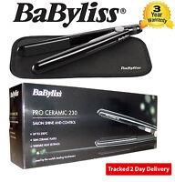 Babyliss 2069U Pro Salon Ceramic 230 Hair Straightener with Heat Mat NEW MODEL