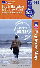 Strath Halladale and Strathy Point - OS Explorer ACTIVE Map 449(NEW 2007 folded)
