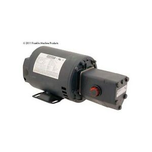 Pump Motor Assy 8 3gal Haight For Ultrafryer Part