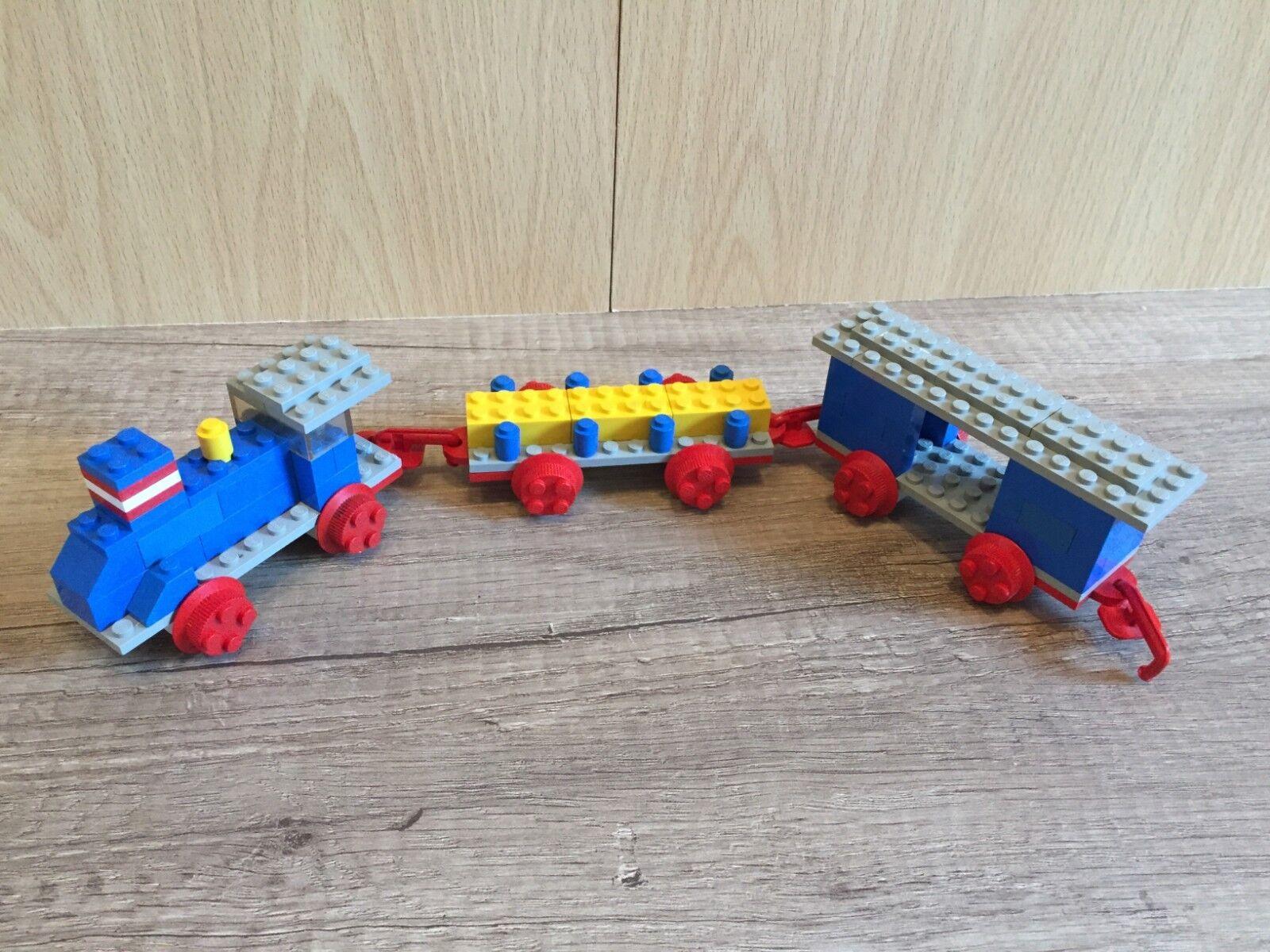 Lego 114 small train set Classic Zug Train Stadt City Town komplett complete