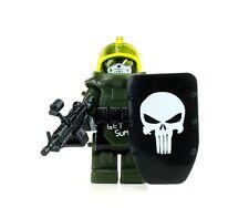Juggernaut Army Assault Minifigure (SKU81) made with real LEGO®