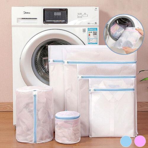 Zipped Wash Bags Laundry Mesh Net Clothes Bra Sock Underwear Washing Machine