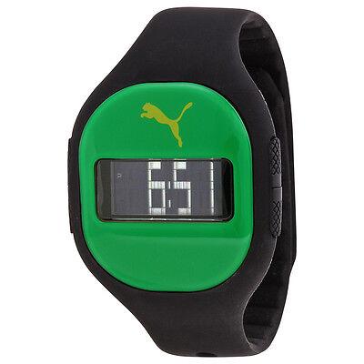 Puma Fuse Digital Dial Black Silicone Unisex Watch PU910921008