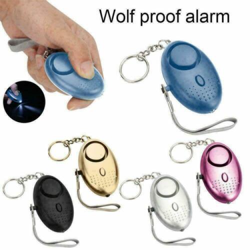 Persönliche Sicherheit Siren Song Alarme Safe Sound Schlüsselanhänger Alarm O1R8