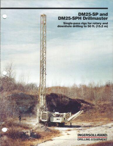 Equipment Brochure - Ingersoll-Rand - DM25-SP SPH Drillmaster - 1982 (E3999)