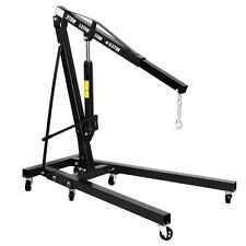 Black Engine Motor Hoist Cherry Picker Shop Crane Lift 2 TON 4000 lb