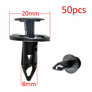 50pcs-Front-Push-Retainer-Clip-For-Holden-Commodore-VE-SS-SV6-OMEGA-Fit-8mm-Hole