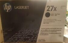 HP LaserJet 27X  C4127X High Yield Black unopened OriginalToner Cartridge