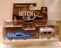1967 '67 Chevy Impala Sport Airstream 16' Bambi Trailer Hitch And Tow Gl 2014