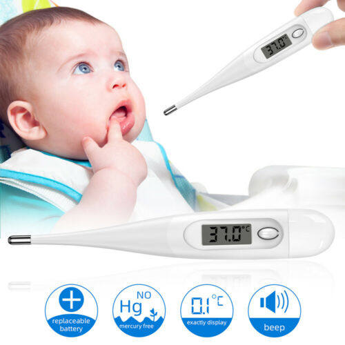 Electronic Thermometer Digital LCD Medical Termometer Kids Baby Children Adults