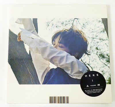 YESUNG SUPER JUNIOR - Here I Am (1st Mini Album) CD+Photo Booklet+1Poster