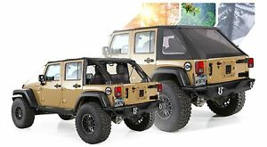 Image Is Loading 2007 2017 Jeep Wrangler Unlimited Frameless Bowless Soft