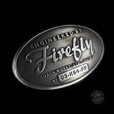 Firefly- Serenity  - Gürtelschnalle - Metall - Konstruktions Plakette