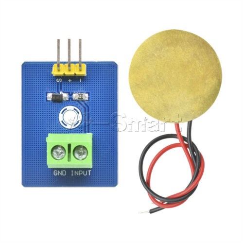 Ceramic Analog Piezoelectricity Piezo Vibration Sensor DIY for Arduino UNO Rev3