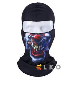 Angry-Clown-Skull-Mask-Balaclava-Under-Helmet-Warm-Airsoft-Neck-Warmer-Halloween