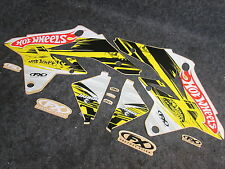 Suzuki RMZ250 2007-2009 Factory FX Hotwheels graphics kit GR1232