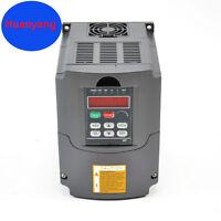 1.5KW 110V VFD 2HP 7A VARIABLE FREQUENCY DRIVE INVERTER HUAN YANG BRAND CNC