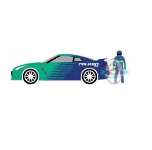 1-64-The-Hobby-Shop-Series-2-2015-Nissan-GT-R-Falken-Tire-w-Race-Car