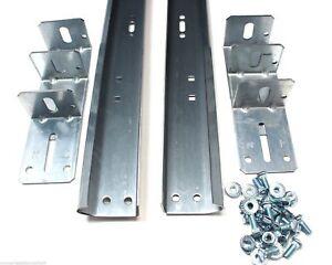 Garage-Door-Track-For-8-039-High-Door-Pair-of-Vertical-Sections-88-034-in-Length