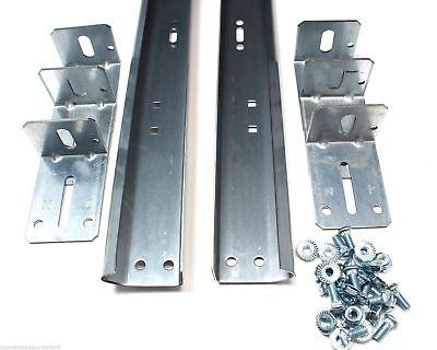 Garage Door Track For 8 High Door Pair Of Vertical Sections 88 In Length Ebay