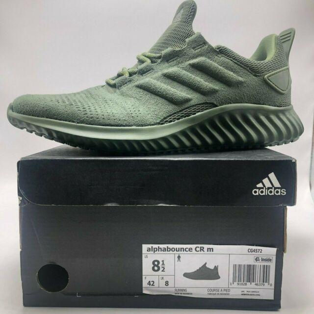 8b5a77c0b adidas Alphabounce CR M Cg4572 Olive Green DS Size 12 for sale ...