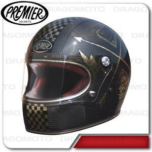 Image Is Loading Helmet Trophy Carbon Nx Gold Chromed Premier Full