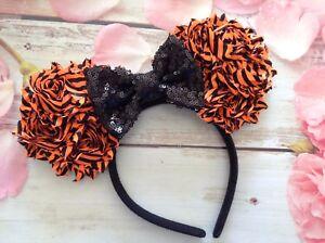 image is loading mickey mouse ears headband bow halloween disney world