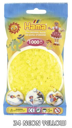 Choice of 60 Colours Hama Beads 1000 Per Bag Original HAMA Fast shipment