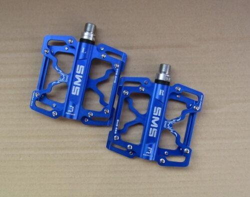NEW Aluminum Alloy Road BMX MTB Bike Bicycle Bearings Pedals flat Platform Pedal