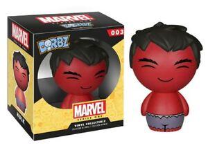 Marvel-Chase-Hulk-Rojo-3-034-dorbz-Vinilo-Figura-Funko-Serie-1-Nuevo