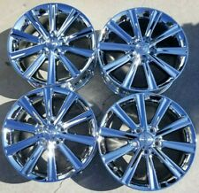 17 Toyota Camry Factory Oem Chrome Alloy Wheels Rims 2012 2014 17x7 69603 Fits 2011 Toyota Camry