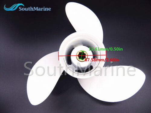 6G1-45941 Aluminum Alloy Propeller 8 1//2x8 1//2-N for Yamaha F9.9 F6 F8 Outboard