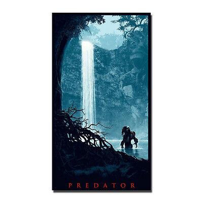 Predator Poster Art Silk Fabric Horror Movie Poster 13x24 20x36 inch J813