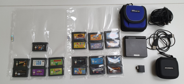 Nintendo Gameboy advance, AGS-001, God, Gameboy Advance SP…
