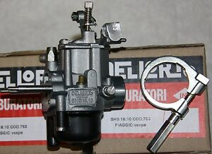 VESPA-VERGASER-Dellorto-16-10-V-50-N-S-L-R-Special-1-Serie-Motor-Spezial-Fuffi