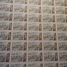 FEUILLE SHEET TIMBRE PORT DE BREST N°1117 x50 1957 NEUF ** LUXE MNH