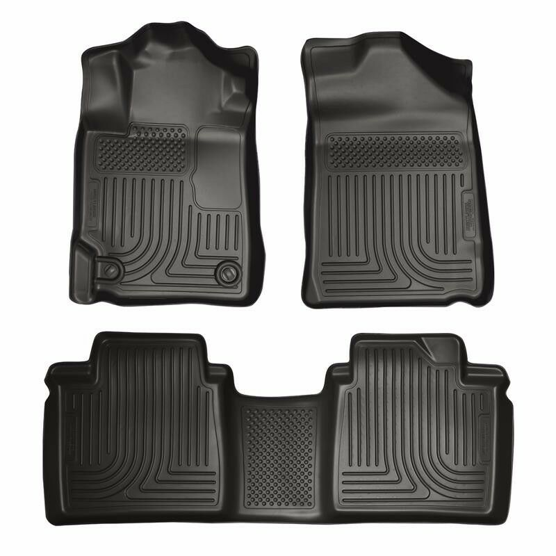 Husky Liners 2007-2011 Toyota Camry WeatherBeater All Weather Floor Mats Black
