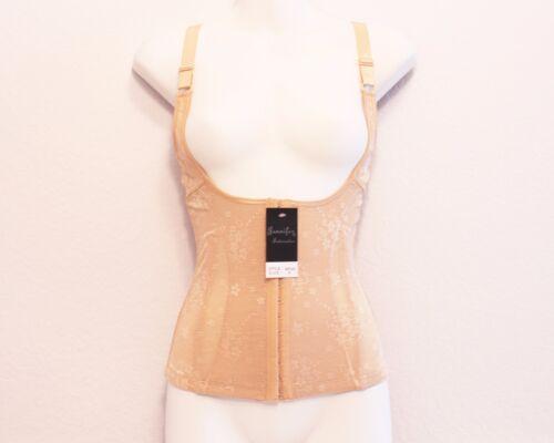 Jennifer 65147 Front Hook-Eye Closure Chaleco-Vest Minimizing Briefer Bodyshaper