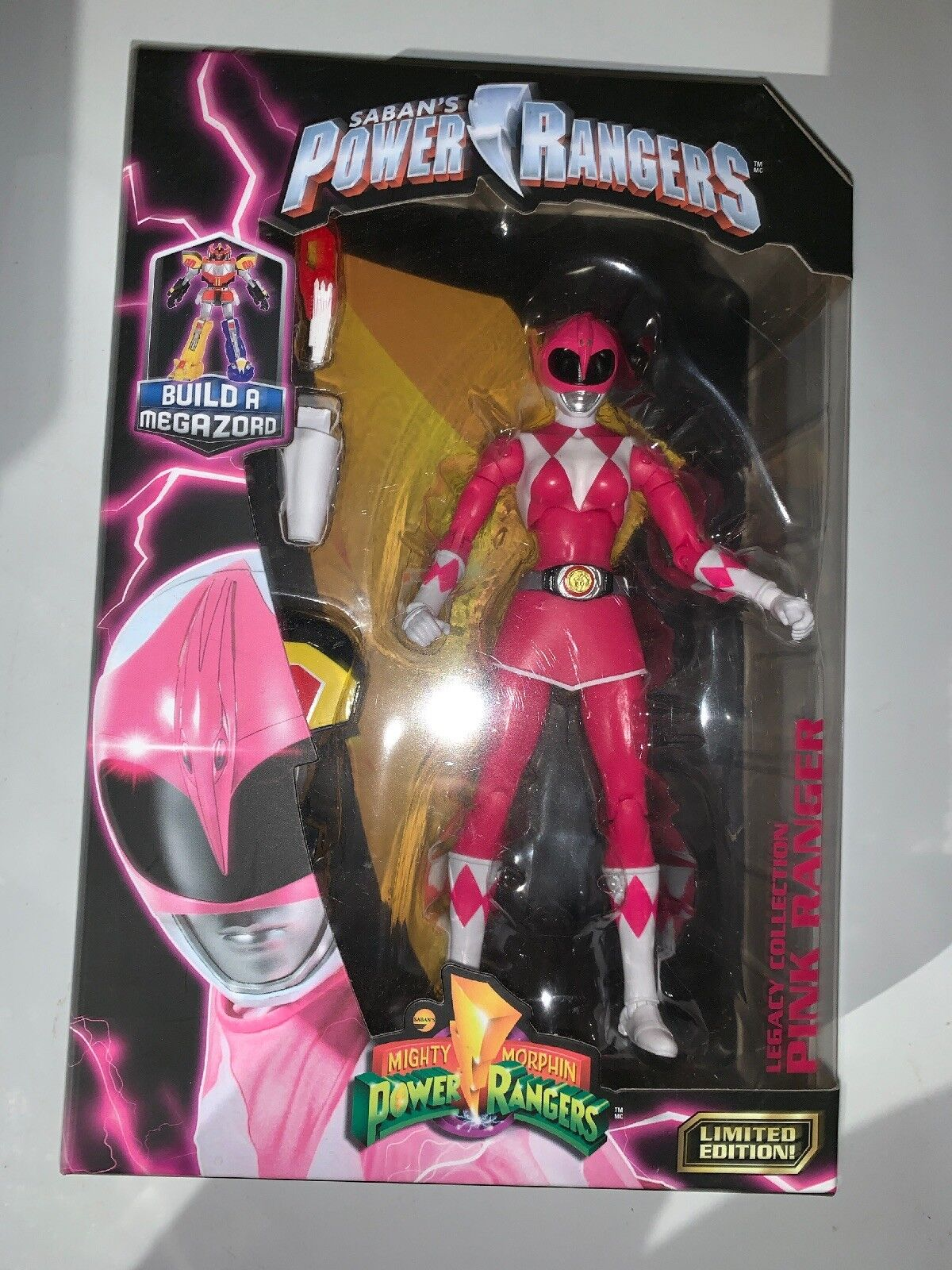 """Mighty Morphin Power Rangers Legacy Collection Pink Ranger 6"""" Action Figure"""