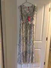 anthropologie white tribal maxi dress plenty by tracy reese nwt m